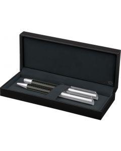 Carbon Line Set Zilver-6239-silver